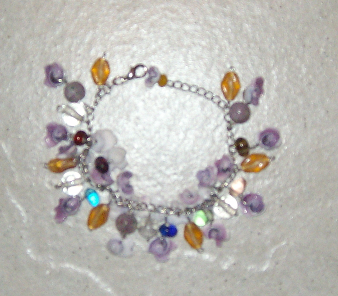 Goddess Shell Charm Charms Bracelet New