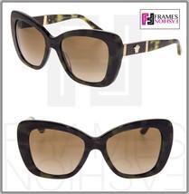 Versace Leather Medusa Sunglasses VE4305Q Green Brown Havana Gradient 4305 - $187.11