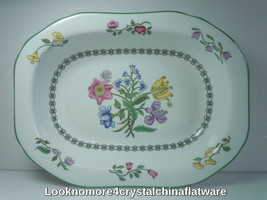 Spode Summer Palace Oval Vegetable Bowl  - $55.43
