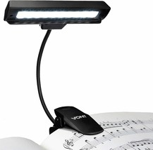 Clip On Book Light, Rechargeable Stand Light, Made From 10 LEDs, Orchest... - $17.81