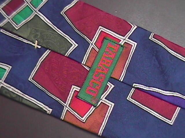 Tabasco Neck Tie Silk Modern Art and Tabasco