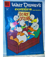 Walt Disney Comics Dell 1958 No216A Donald Duck  - $7.50