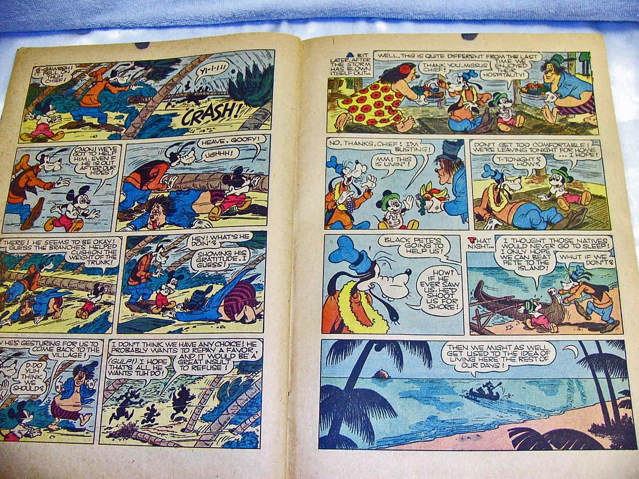Walt Disney Comics Dell 1958 No216A Donald Duck