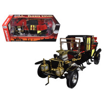 George Barris Munsters Koach Black 1/18 Diecast Model Car by Autoworld A... - $114.93
