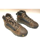 New Caterpillar Convex Cat Mid Steel Toe Leather Lace Up Work Boots Size... - $69.99