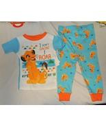 NEW Baby Disney Lion King 2 pc Pajamas Short Sleeves Pants Size 9 thru 2... - $14.99