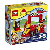 LEGO Duplo Brand Disney 6174752 Mickey Racer 10843 Building Kit (15 Piece) - $36.78