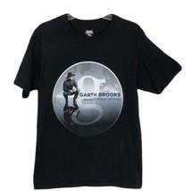 Garth Brooks World Tour 2014-15 Country Music Concert Tee Black TShirt Medium - $14.80