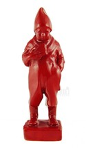 Vintage Red Zsolnay Boy with Bread Figurine - $1,161.69