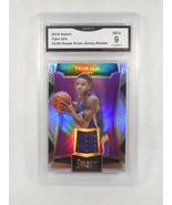 2016 Select Tyler Ulis #43/99 Purple Prizm Jersey Rookie GMA Graded 9  - $7.18