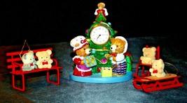 Christmas Bear Animal Decor AA20-2202 Vintage Collectible