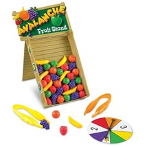 Learning Resources Avalanche Fruit Stand Game - $28.99