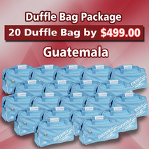 20 Duffle Bag Package Guatemala Color Blue by Arza Soccer(Team Bag) - $395.01