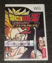Dragon Ball Z: Budokai Tenkaichi 2 (Nintendo Wii, 2006) Complete in Box ... - $55.00