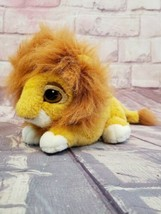 "Mattel Disney The Lion King Simba Cub 10"" Plush Hideable Mane 1994 Vintage - $28.49"
