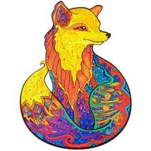 "Unidragon Wooden Jigsaw Puzzles ""Alluring Fox"" Laser Cut Jigsaw Puzzle -... - $89.99"