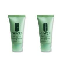LOT OF 2 Clinique Liquid Facial Soap Mild- For Dry Combination Skin 1 oz - $9.78
