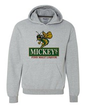 Mickeys Irish Malt Liquor Beer Hoodie 80s retro beer cotton graphic sweatshirt image 1