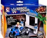 WWE Stackdown Dolph Ziggler's Zig Zag Cycle Vehicle & Figure - 21012 - New