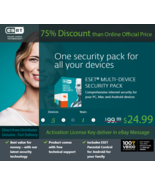 ESET Internet Security Multi-Device 2018, 5 Devices / 1 Y - Nepal's Lice... - $30.78 CAD