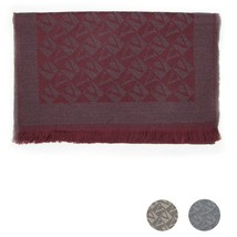 Men Scarf wool VALENTINO Logo 0512 - $83.99