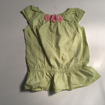 NWT Gymboree Fairy Garden Striped Ruffle Neck Knit Top Size 4 5 6 8