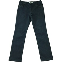"Jones New York Womens Jeans size 14 Long Tall x33""ins Dark Wash Straight... - $26.24"
