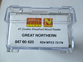 Micro-Trains #04700420 Great Northern 40' Double-Sheathed Wood Reefer N-Scale image 5