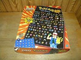 1999 NINTENDO POKEMON GOTTA CATCH 'EM ALL POSTER PUZZLE MISSING 1 PIECE - $9.73
