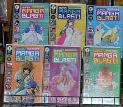 Super Manga Blast! 1 2 3 4 5 6 Lot Seraphic Feather 3x3 Eyes OH MY Goddess - $19.99