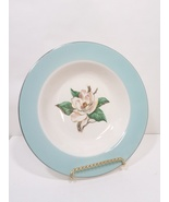 Turquoise Magnolia Lifetime China Soup Bowl LTC12 by Lifetime - $32.99