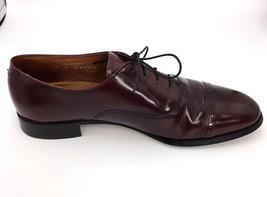Bostonian Mens 10 N Oxford Wingtip Dress Shoes Brown Dress Narrow USA - $24.27