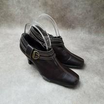 "Aerology by Aerosoles Womens Cinterpiece Sz 6.5 M Brown 2"" Heeled Ankle ... - $26.99"