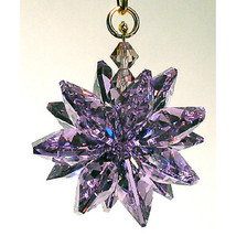Small Colored Crystal Suncluster Ornament image 7