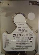 IBM DRVS-18D 18GB 3.5 HH SCSI 80 PIN 09L1509 Drive Tested Good Free USA ... - $24.95