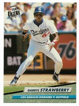 1992 Fleer Ultra Los Angeles Dodgers Team Set with Darryl Strawberry - $1.70