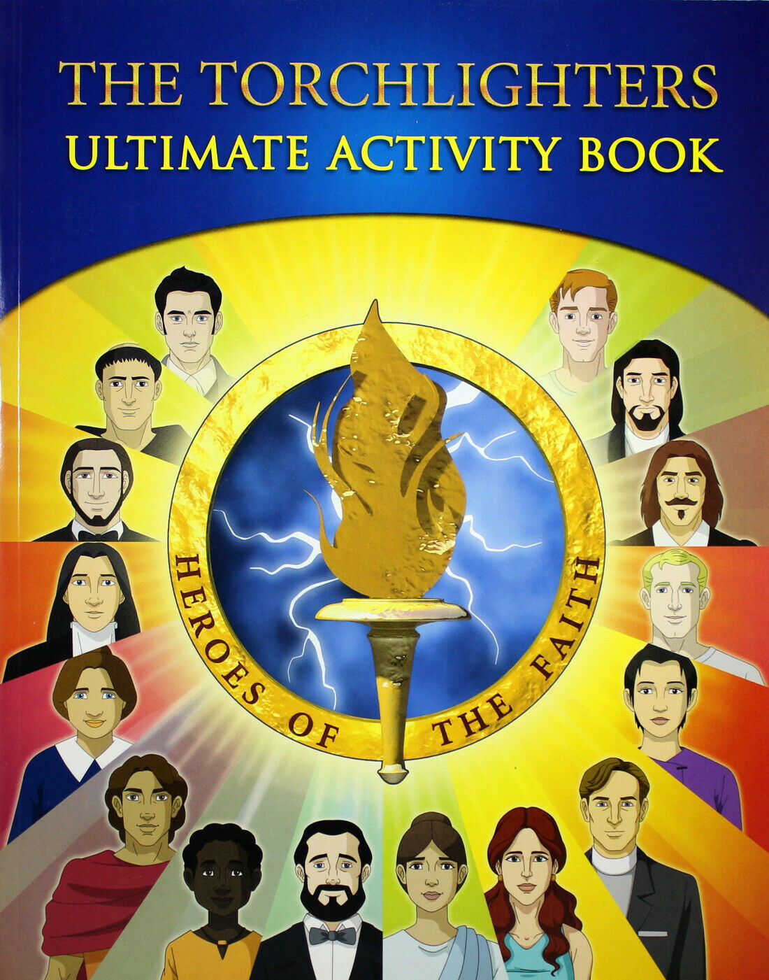 Primary image for The Torchlighters Ultimate Activity Book NEW - 16 Heroes of Faith Honored