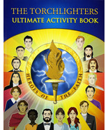 The Torchlighters Ultimate Activity Book NEW - 16 Heroes of Faith Honored - $13.68