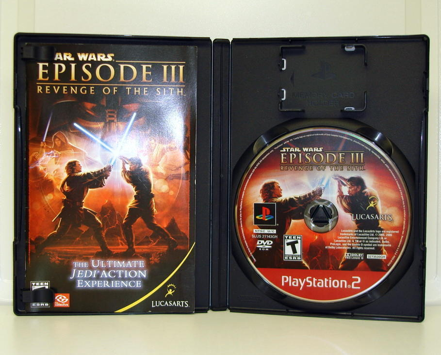 Star Wars Episode III Revenge of Sith PS2 Sony Video Game