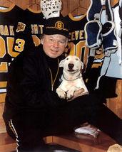 Don Cherry Boston Bruins 4U Vintage 11X14 Color Hockey Memorabilia Photo - $14.95