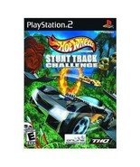 Hot Wheels Stunt Track Challenge PS2 Sony Video... - $6.59