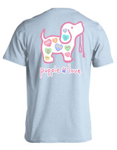 Puppie Love Rescue Dog Men Women Short Sleeve Graphic T-Shirt, Sweethearts Pup