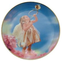 Danbury Mint c1998 The Fairy Children Morning Reveille Valerie Fabor-Smith CP170 - $35.67