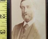Cdv handsome bearded man 1885  1 thumb155 crop