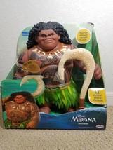 """Disney Moana Mega Maui 16"""" Talking Doll Action Figure Toy Singing Phrase... - $79.99"""