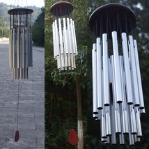 27 Tubes 5 Bells Wind Chimes Outdoor Living Wind Chimes Yard Garden Tubes Bells  - $38.00