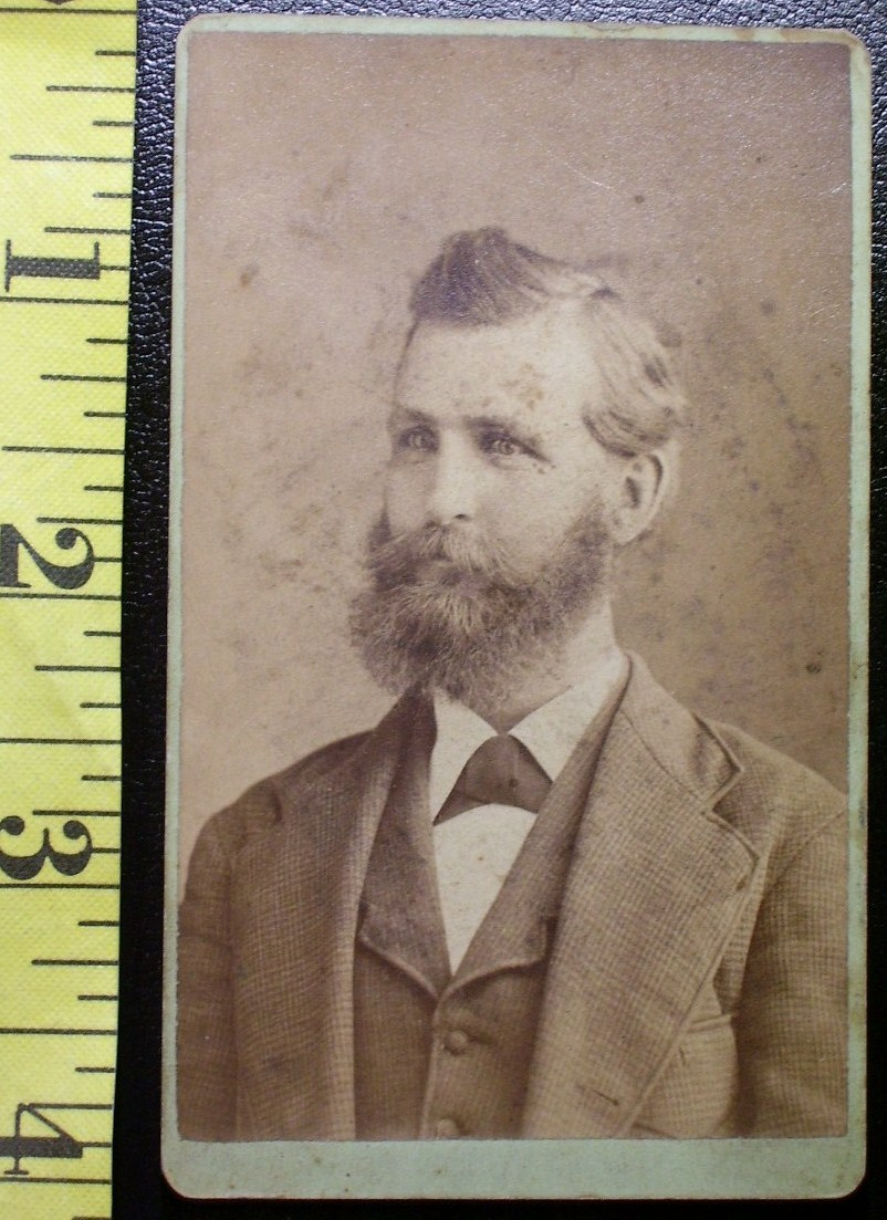 Cdv full bearded man st. louis  1