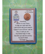 """Grandma"" Shiny Lucky Penny Magnetic or Tuck-in... - $4.00"