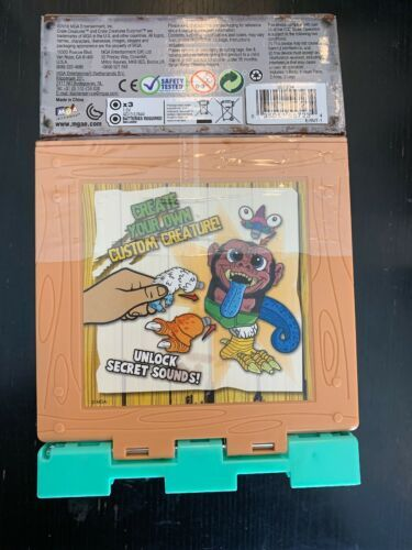 Crate Creatures Surprise Kaboom Box Croak Mix n Match Pink Tongue NEW in BOX