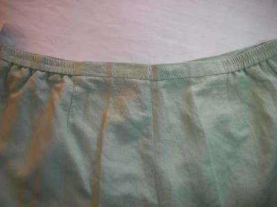 WOMEN LAURA SCOTT GREEN DRESS CAREER PANT 24WP PLUS NWT